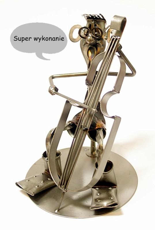 figurka muzyka wiolonczelista