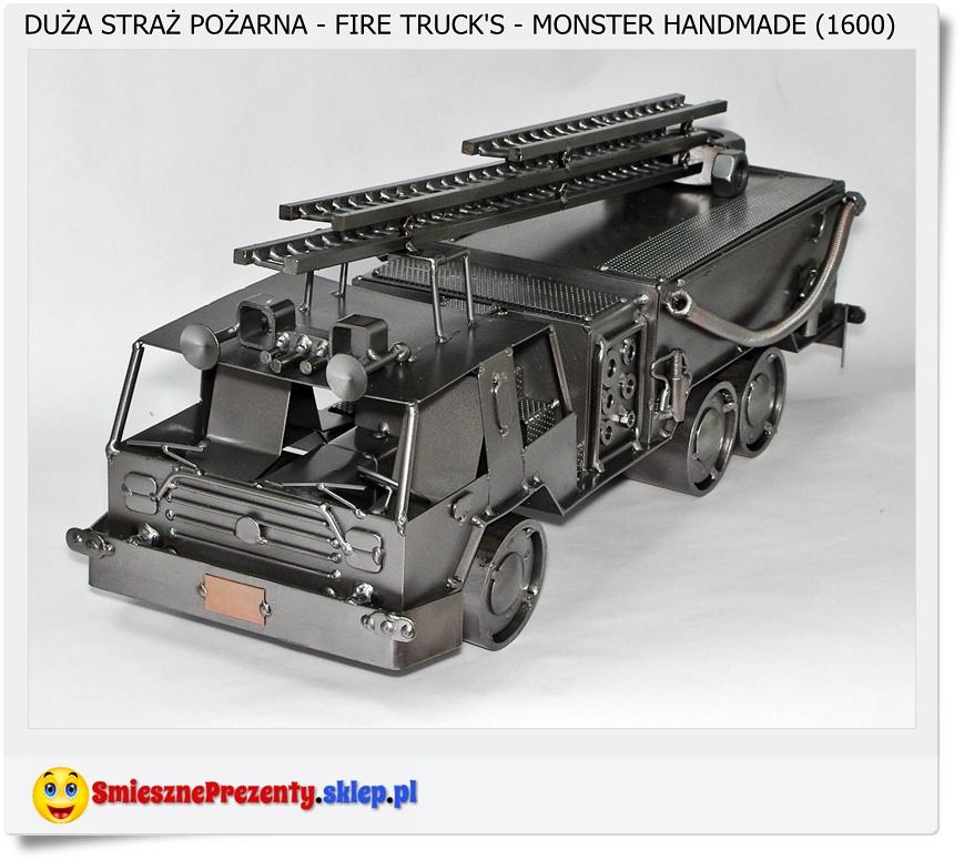 Samochód wóz strażacki na prezent