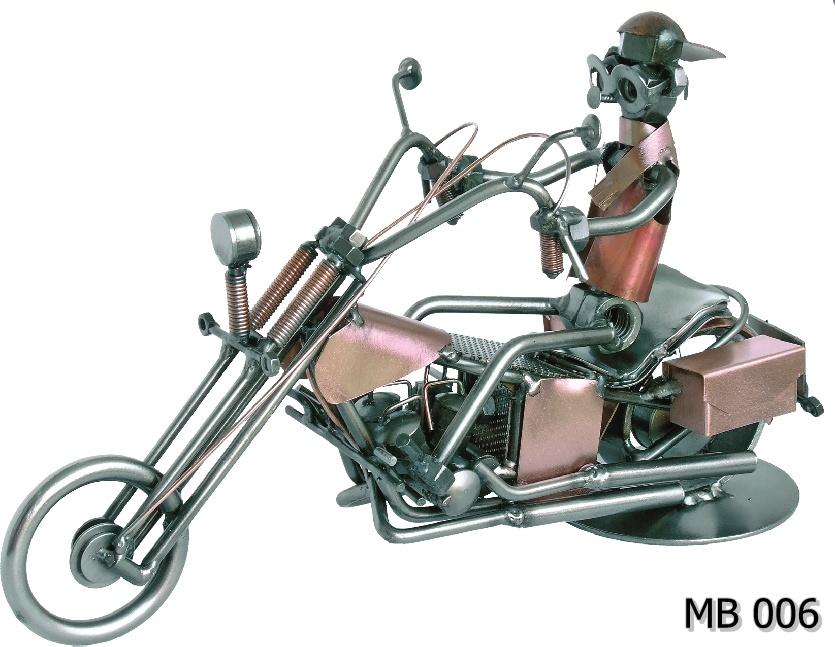 Metalowy model Harley Choper MB006