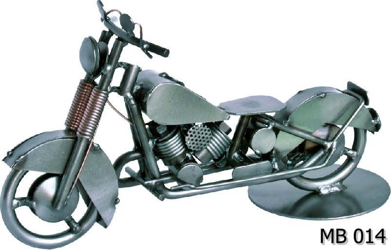 Model oldtimer Harley Davidson