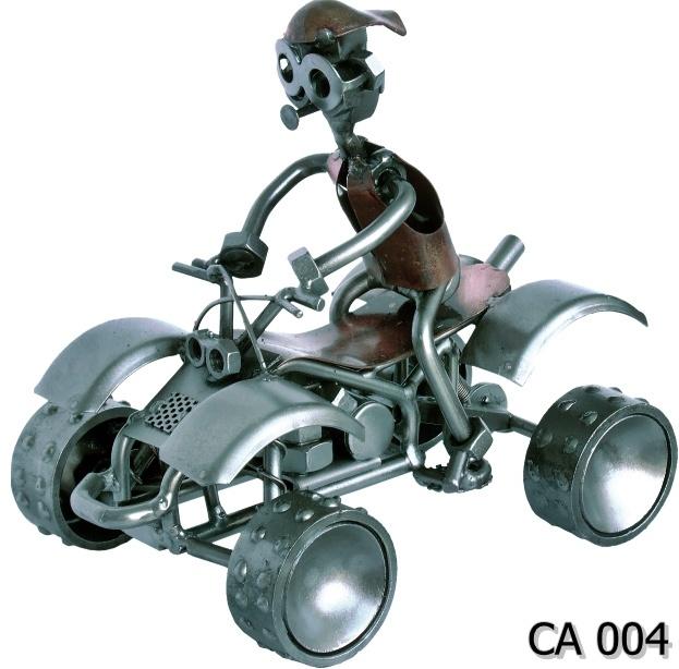 Metalowy model Quad czterokołowiec