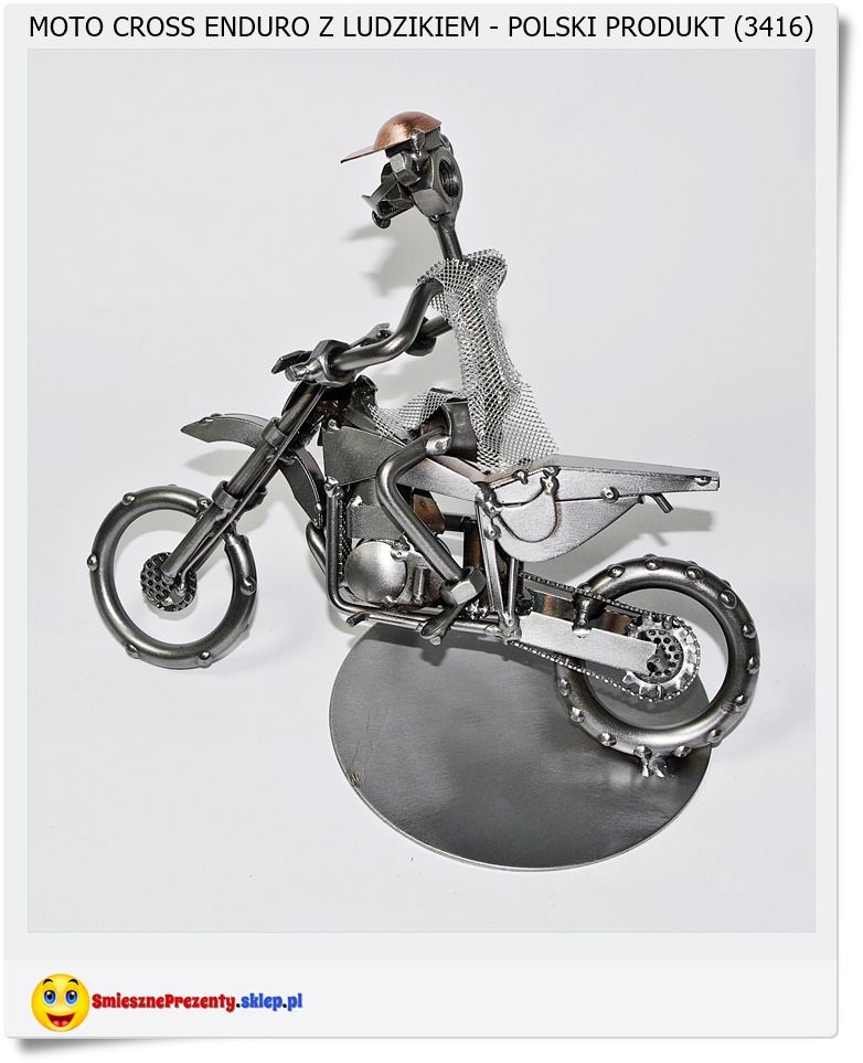 figurka dla chłopaka na motorze