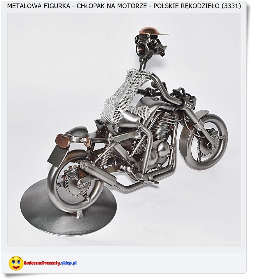 Figurka motocykl dla motomaniaka